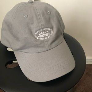 LAND ROVER-Embroidered Strap Back baseball cap